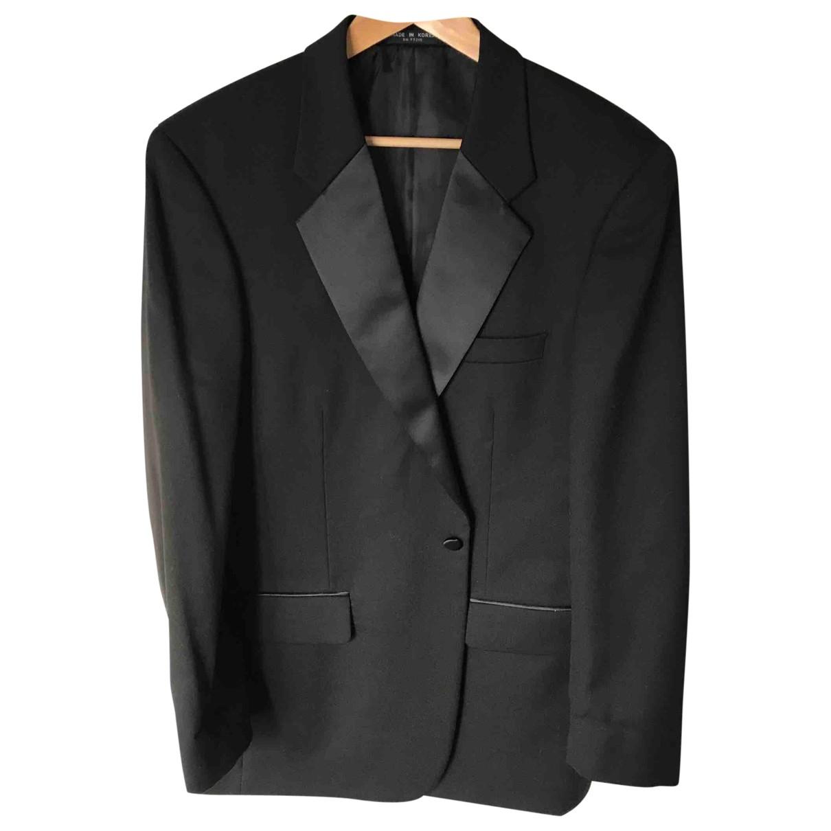 - Veste Oversize pour femme en laine - noir