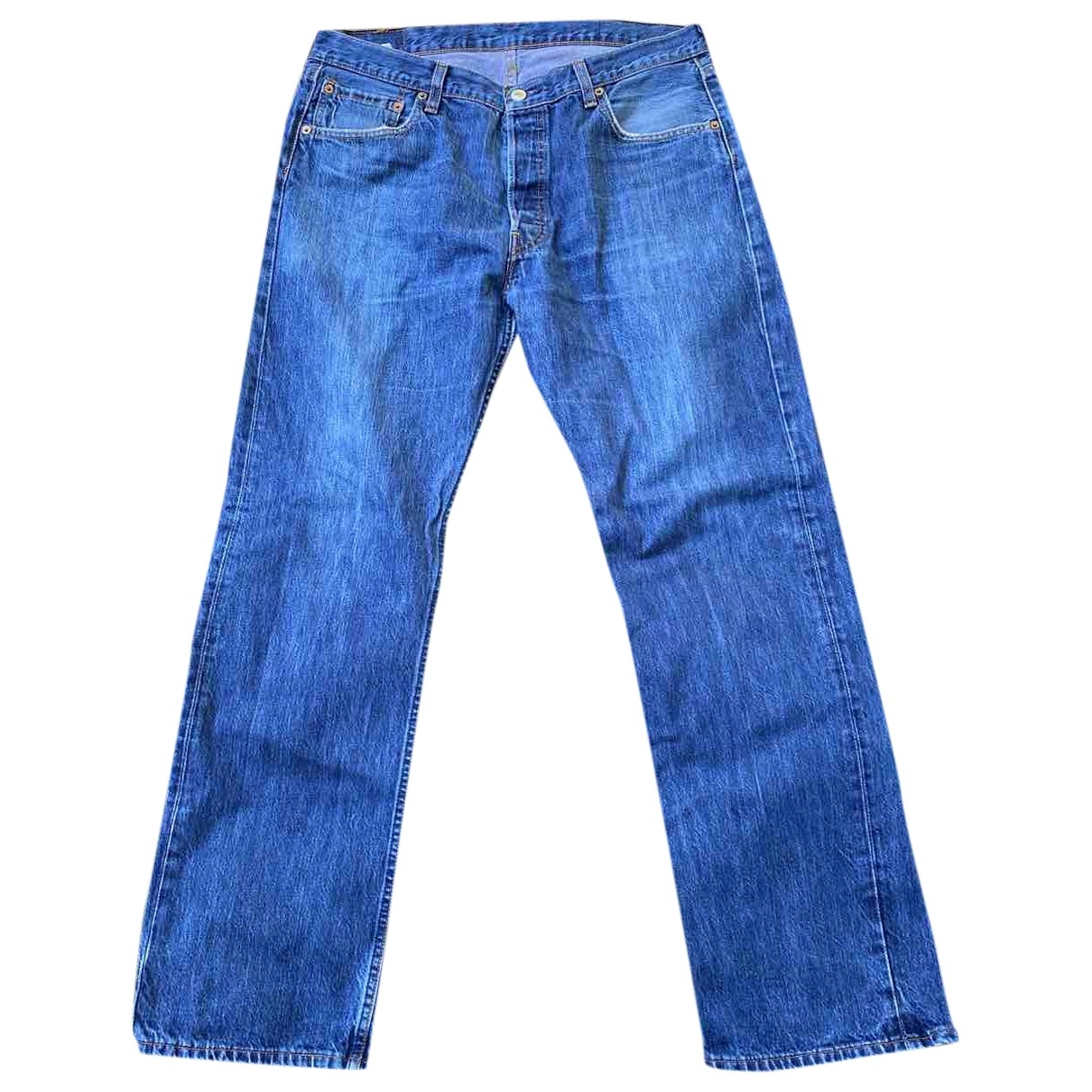 Levi's Vintage Clothing \N Blue Cotton Jeans for Men 36 US