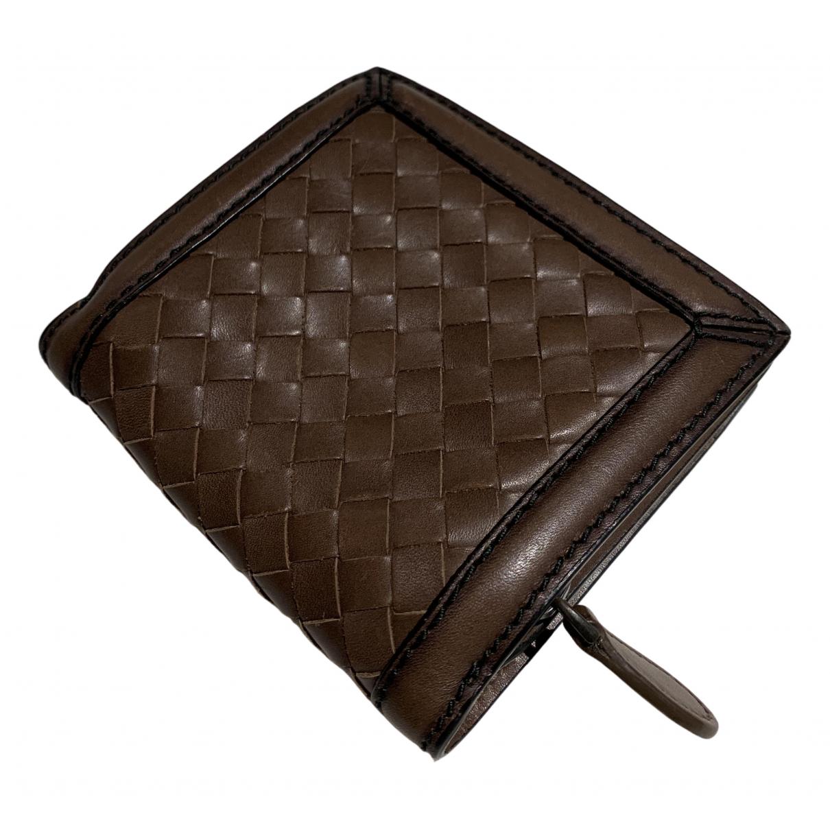 Bottega Veneta N Brown Leather Purses, wallet & cases for Women N
