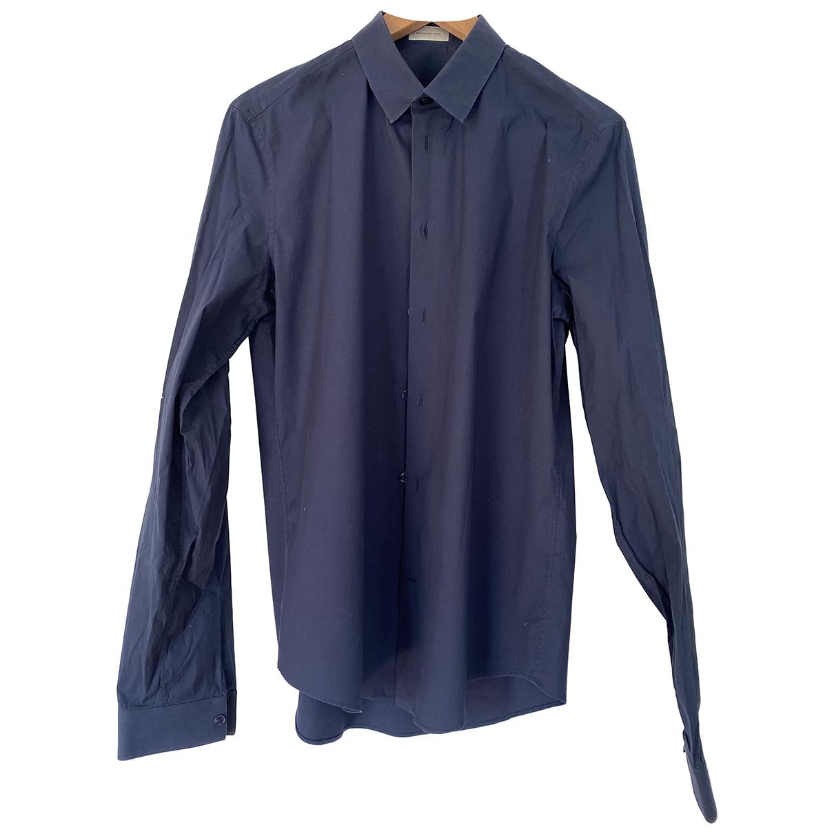 Balenciaga \N Hemden in  Marine Baumwolle
