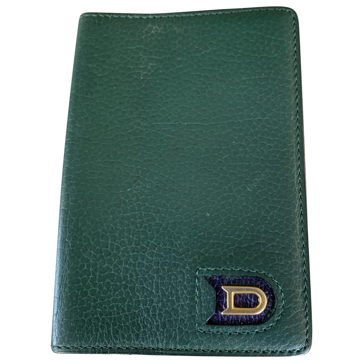 Delvaux \N Green Leather Purses, wallet & cases for Women \N