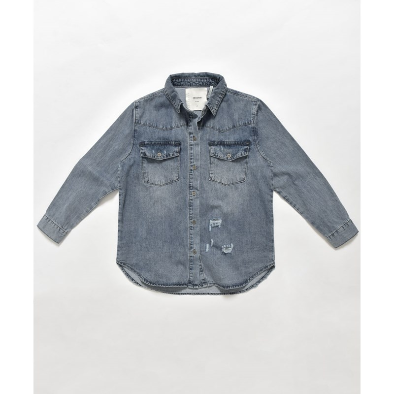 KIDS ROCKY VINTAGE DENIM SHIRT