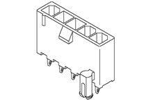 Molex , 5566, 3 Way, 1 Row, Vertical PCB Header (1518)