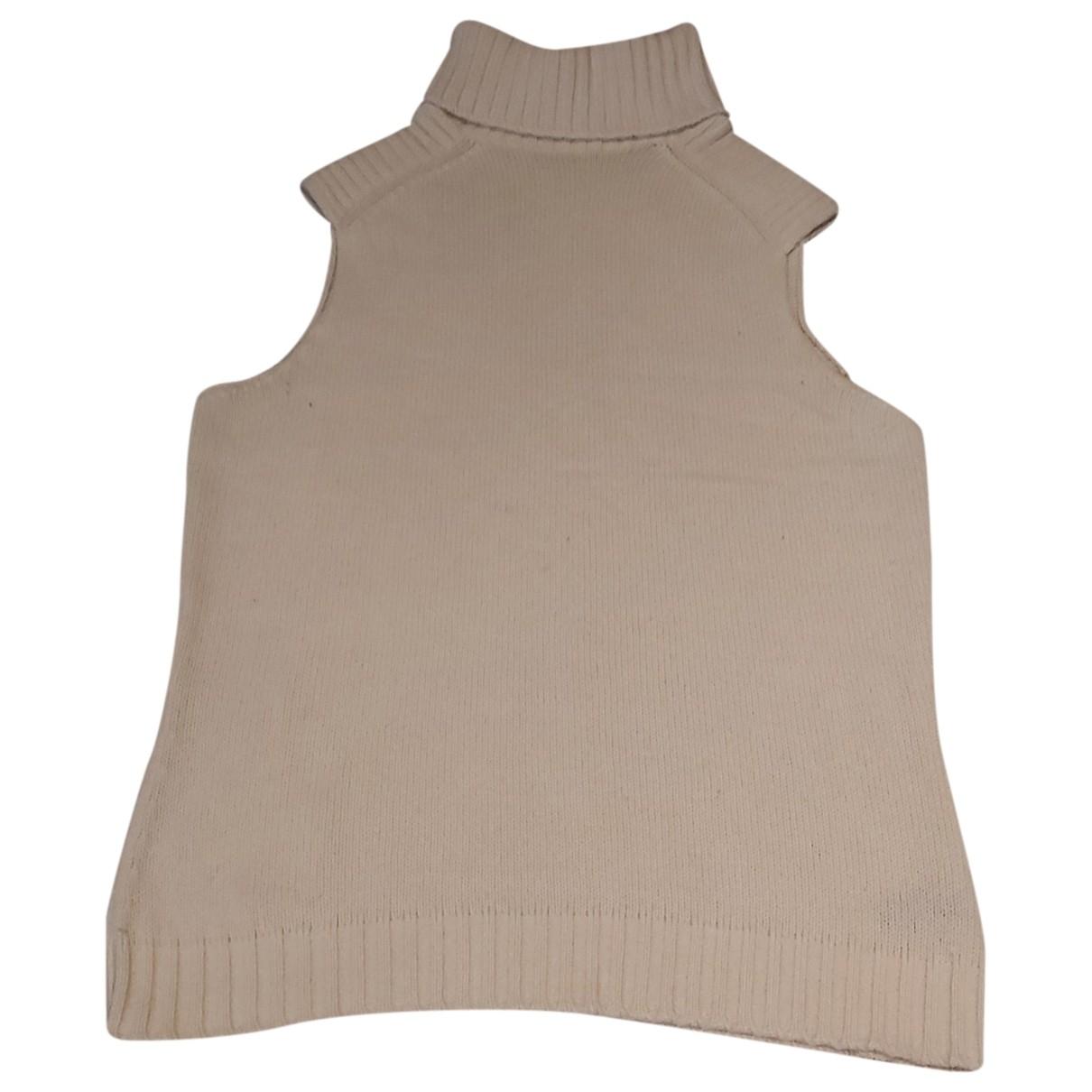 Malo \N Ecru Cashmere Knitwear for Women 46 IT