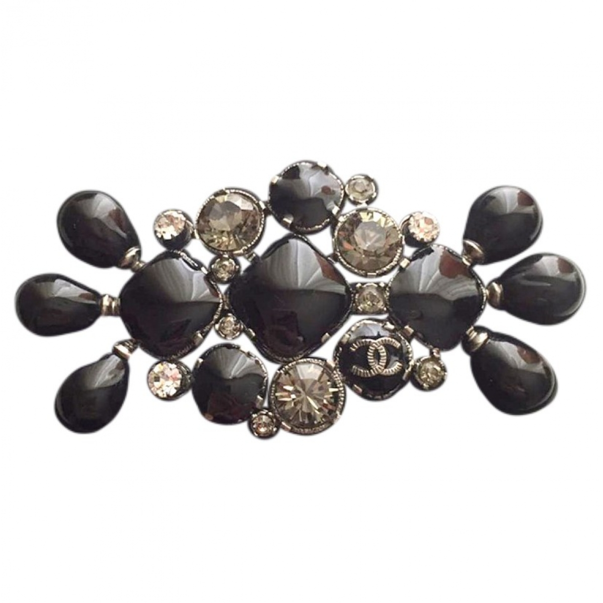 Chanel \N Black Metal Pins & brooches for Women \N
