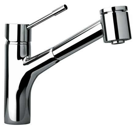 25576-81 Single Hole Kitchen Faucet With Pull-Out Spray Head  Designer Brushed Nickel