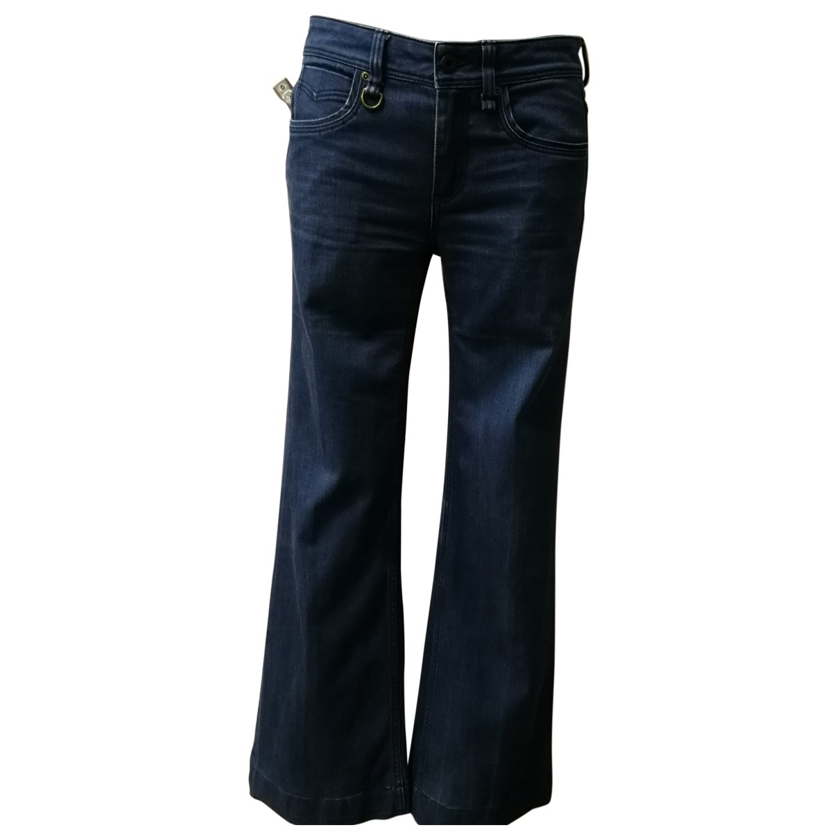 Burberry \N Blue Cotton - elasthane Jeans for Women 26 US