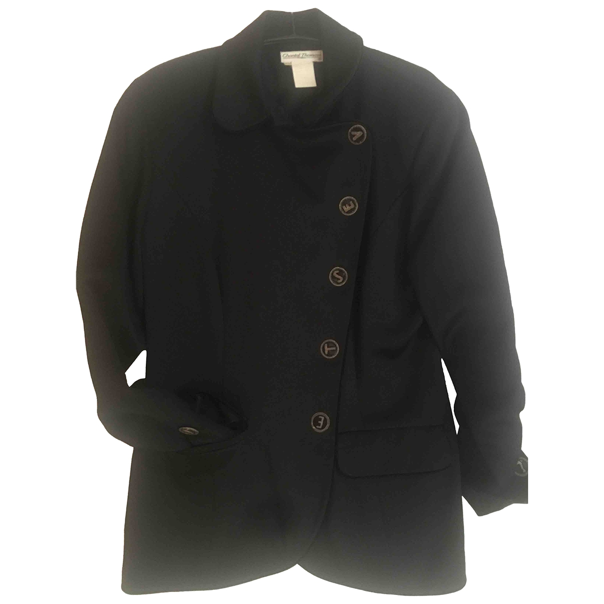 Chantal Thomass \N Black Wool jacket for Women 44 FR