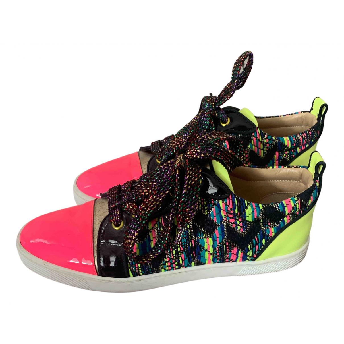 Christian Louboutin \N Sneakers in  Bunt Lackleder