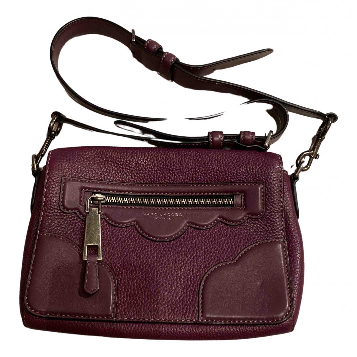 Marc Jacobs \N Handtasche in  Lila Leder