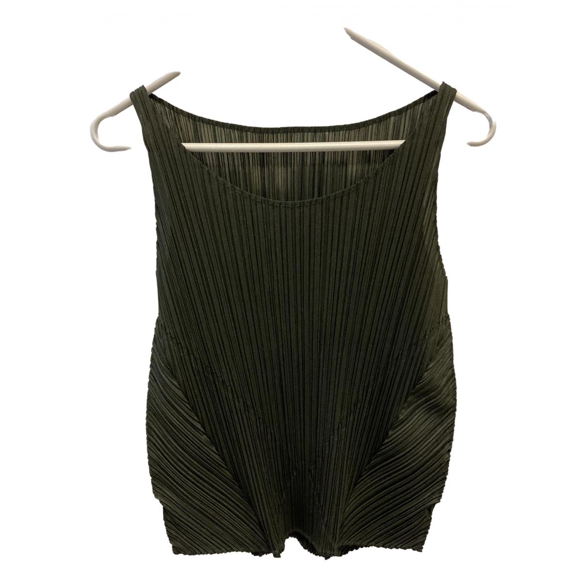 Pleats Please \N Top in  Gruen Polyester