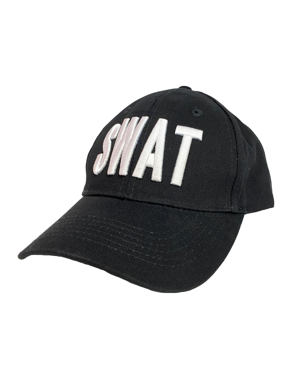 Kostuemzubehor Baseball Cap SWAT Farbe: schwarz