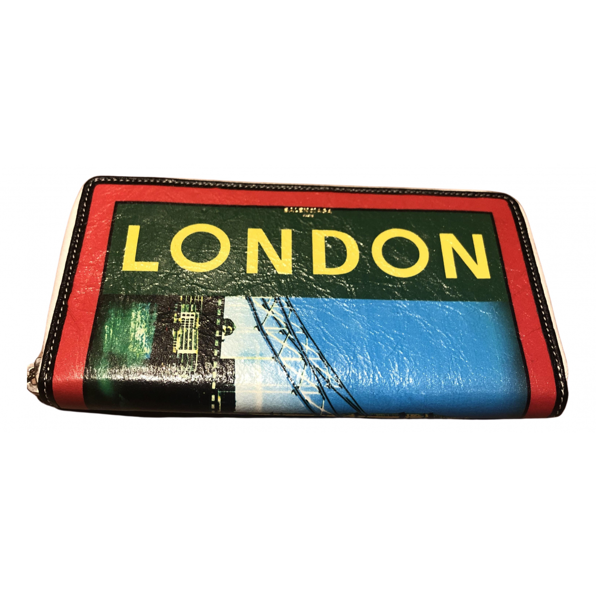 Balenciaga N Multicolour Leather wallet for Women N