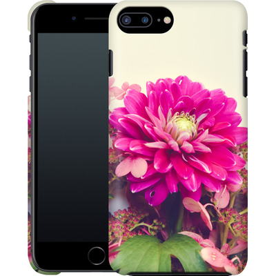 Apple iPhone 8 Plus Smartphone Huelle - Pink Dahlia 2 von Joy StClaire