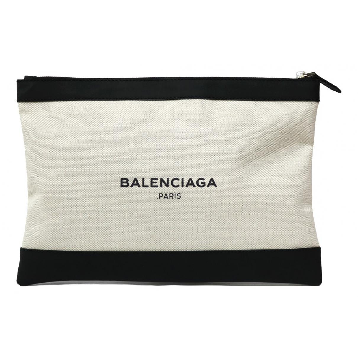 Balenciaga - Pochette   pour femme en toile - beige