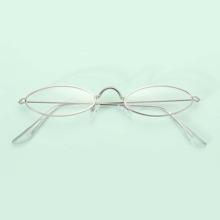 Gafas de hombres de marco de oval