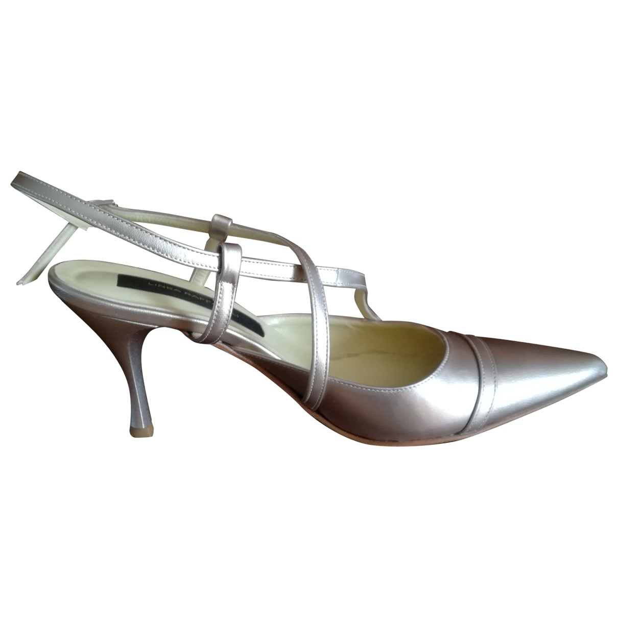 Non Signé / Unsigned \N Leather Heels for Women 38 EU