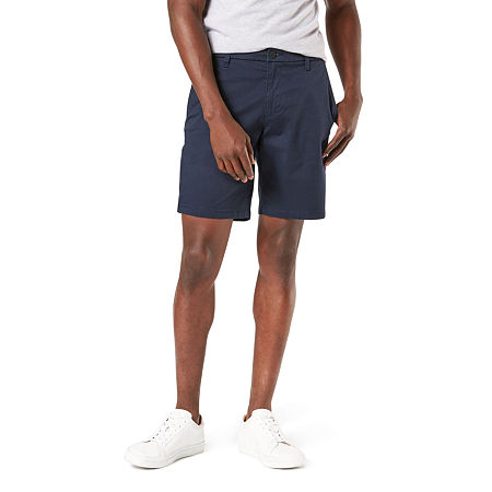 Dockers Mens Chino Short-Big and Tall, 60 , Blue