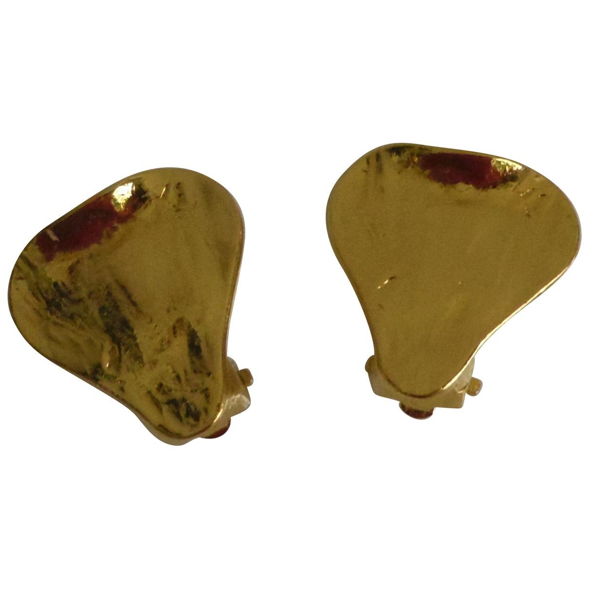 Yves Saint Laurent \N OhrRing in  Gold Metall