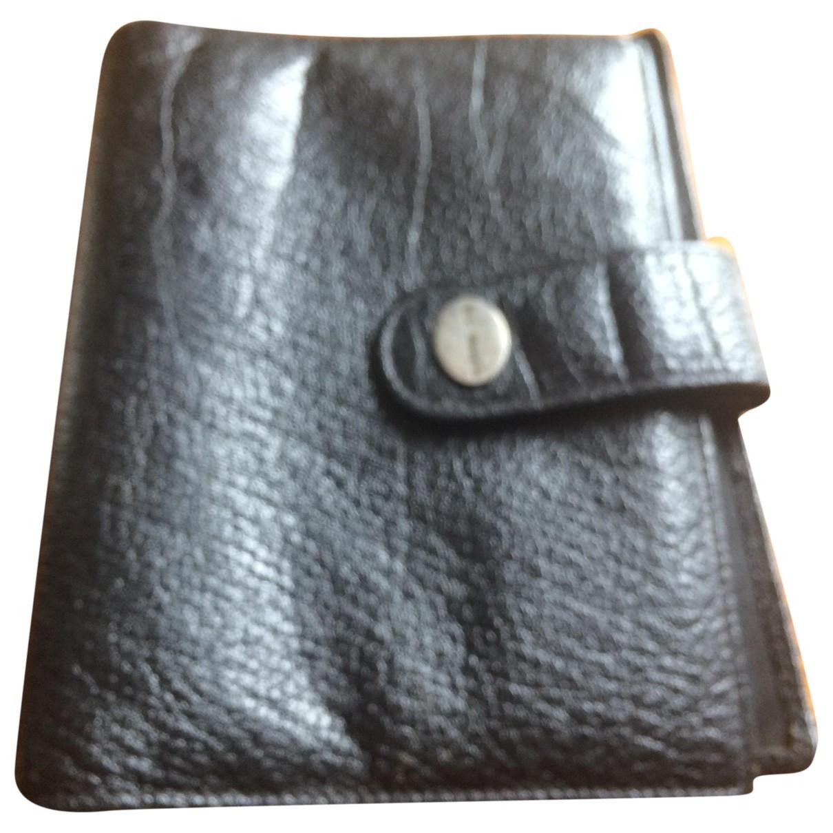 Mac Douglas - Petite maroquinerie   pour femme en cuir - noir