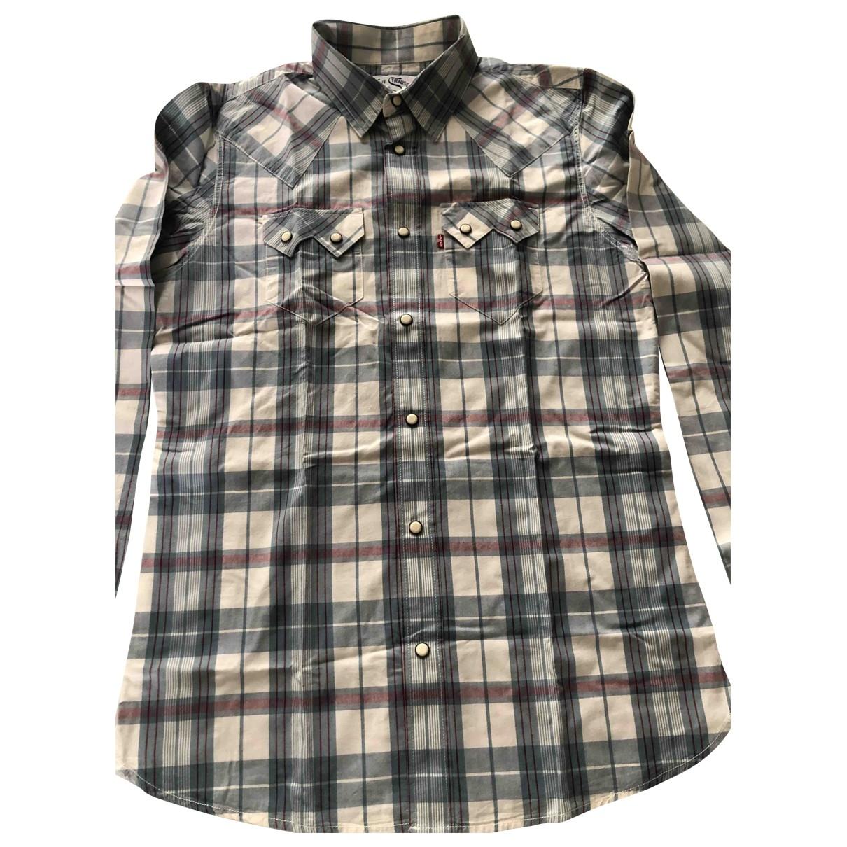 Levis - Chemises   pour homme en coton - multicolore