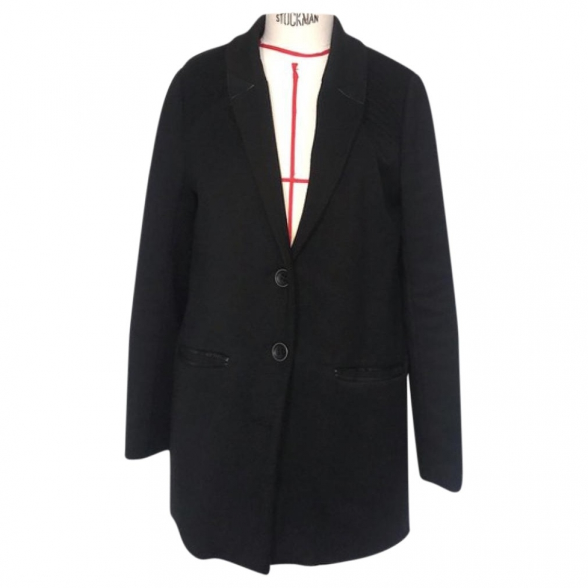 Bel Air \N Black Wool coat for Women 38 FR