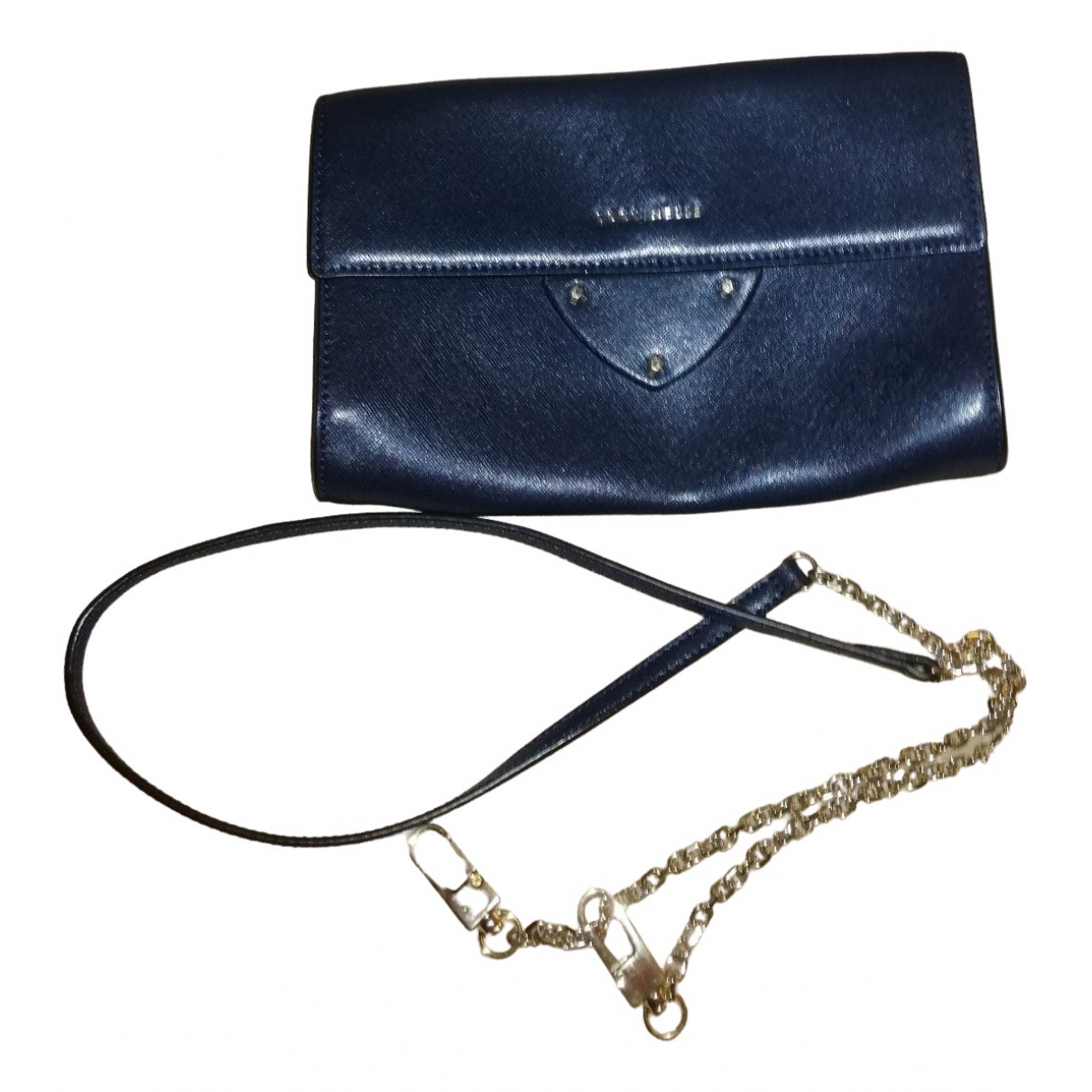 Coccinelle \N Blue Leather Clutch bag for Women \N