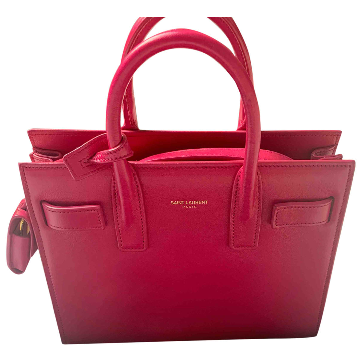 Saint Laurent Sac de Jour Pink Leather handbag for Women \N