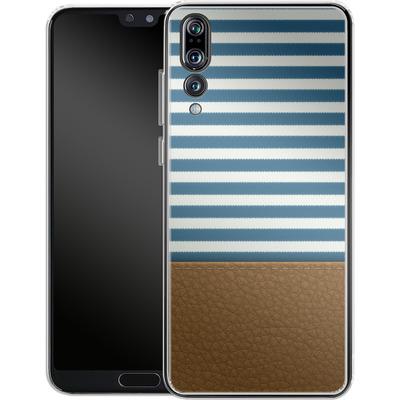 Huawei P20 Pro Silikon Handyhuelle - Nautical von caseable Designs