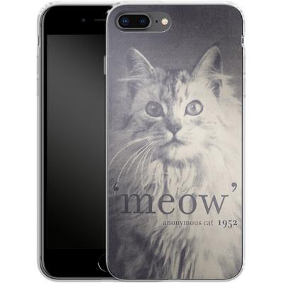 Apple iPhone 7 Plus Silikon Handyhuelle - Famous Quote Cat von Florent Bodart