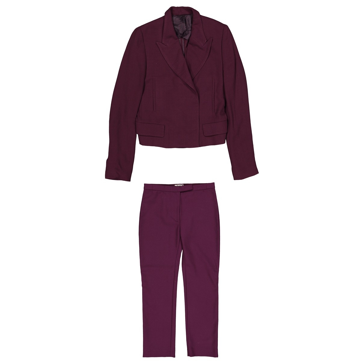 Acne Studios - Veste   pour femme en laine - violet