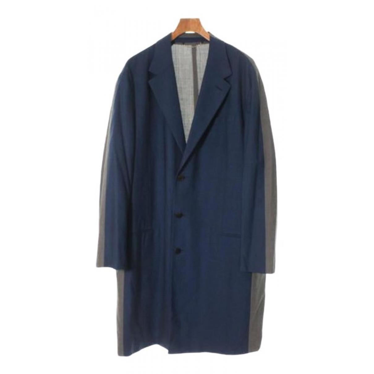 Louis Vuitton - Manteau   pour homme en laine - gris