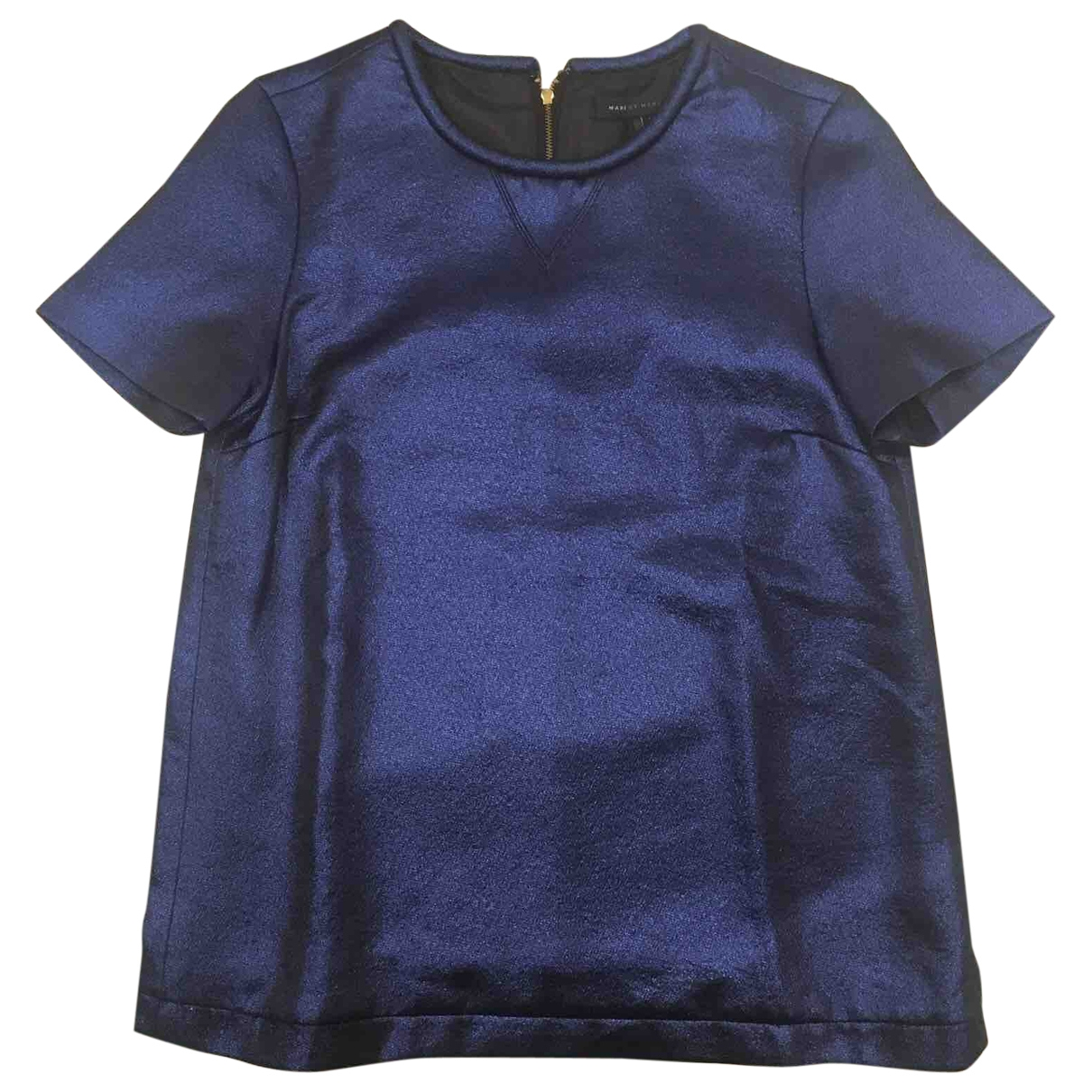 Marc By Marc Jacobs \N Top in  Blau Polyester