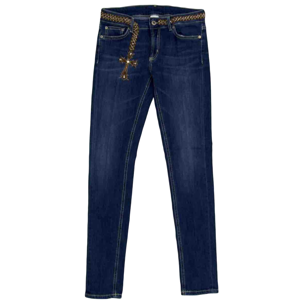 Dondup \N Blue Cotton Jeans for Women 27 US