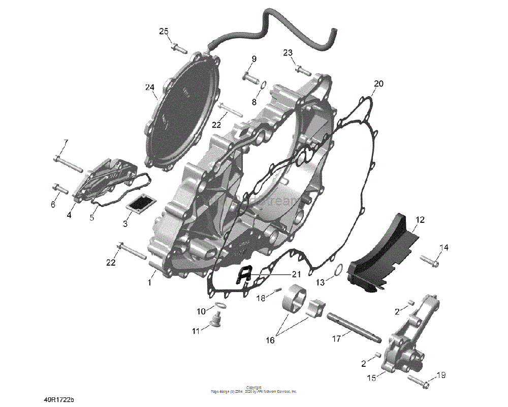 Can-AM OEM Diaphragm Cover Assembly
