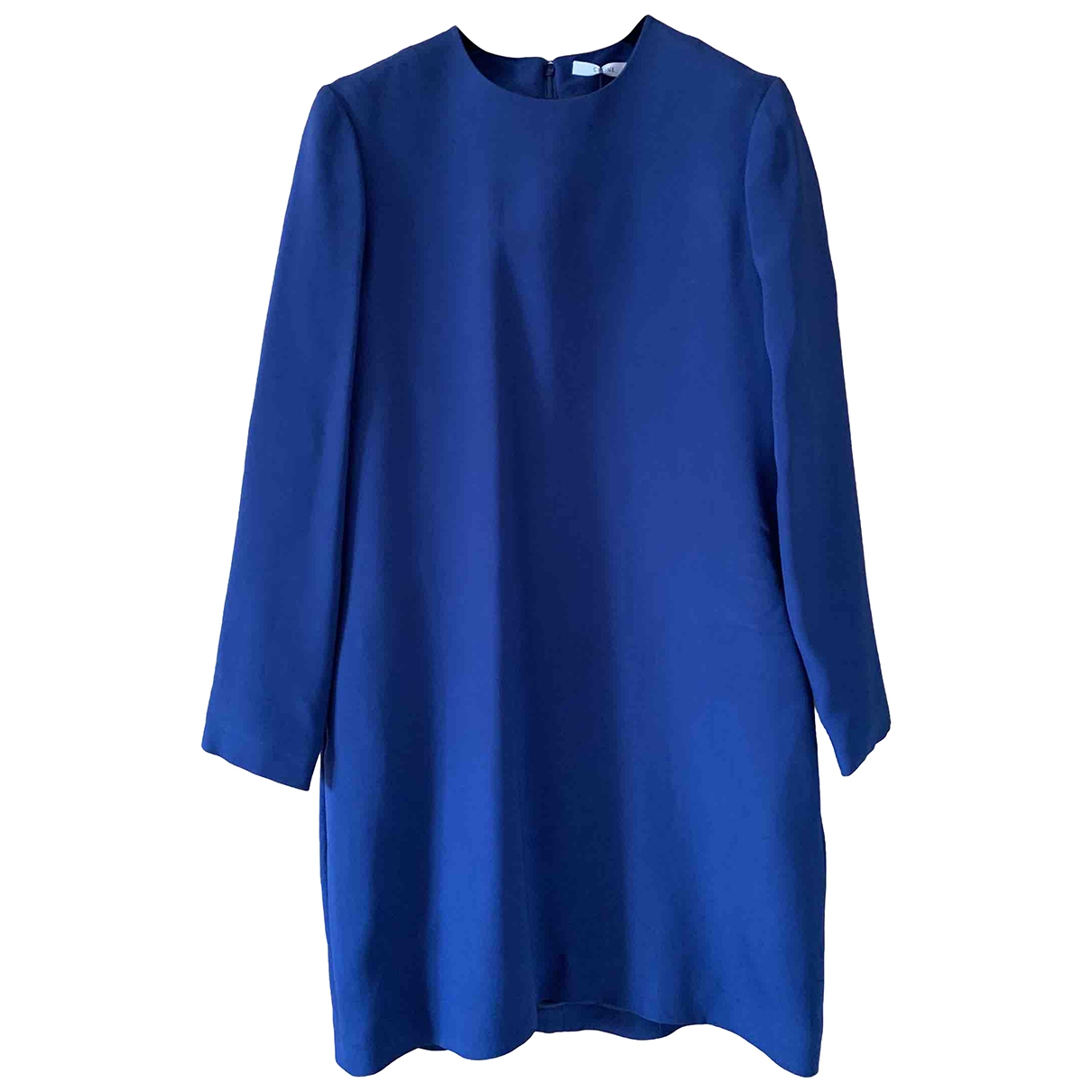 Celine \N Kleid in  Blau Viskose