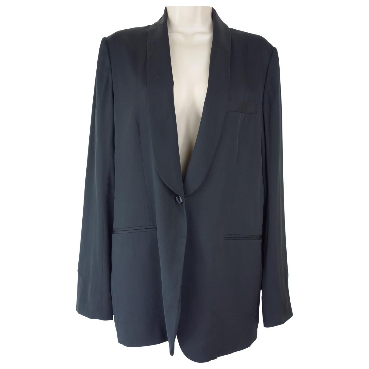 Jasmine Di Milo N Black Silk jacket for Women 12 UK