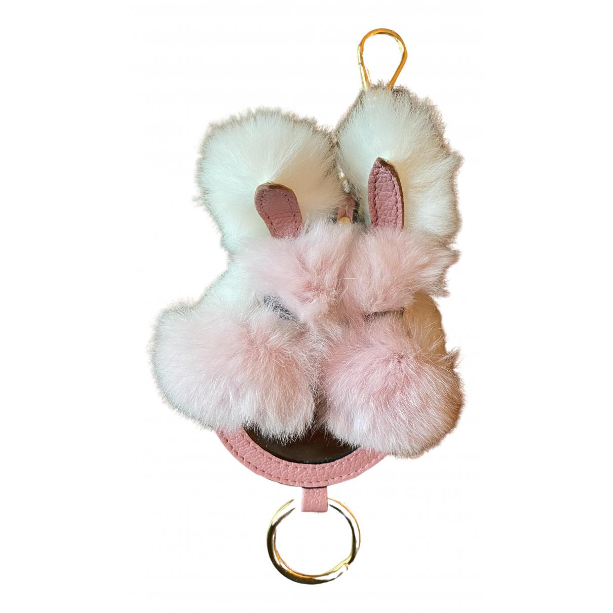 Miu Miu - Bijoux de sac   pour femme en lapin - multicolore