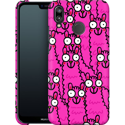 Huawei P20 Lite Smartphone Huelle - Lama Pink Dream von Flossy and Jim
