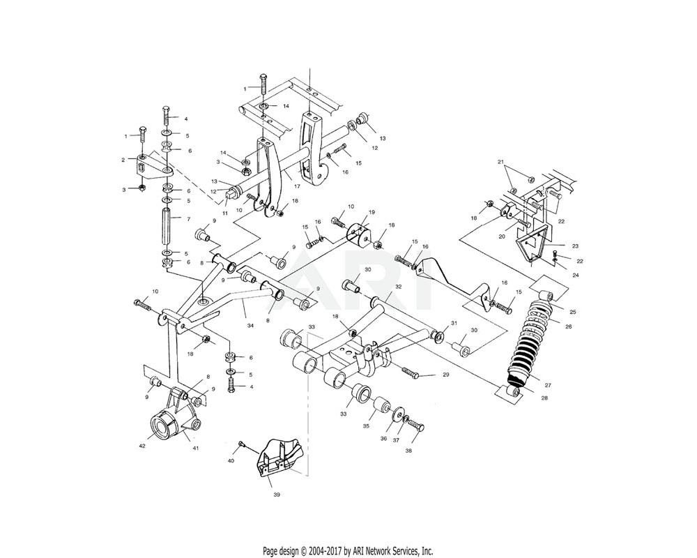 Polaris OEM 1014321-067 Arm, Control, Upper, RH