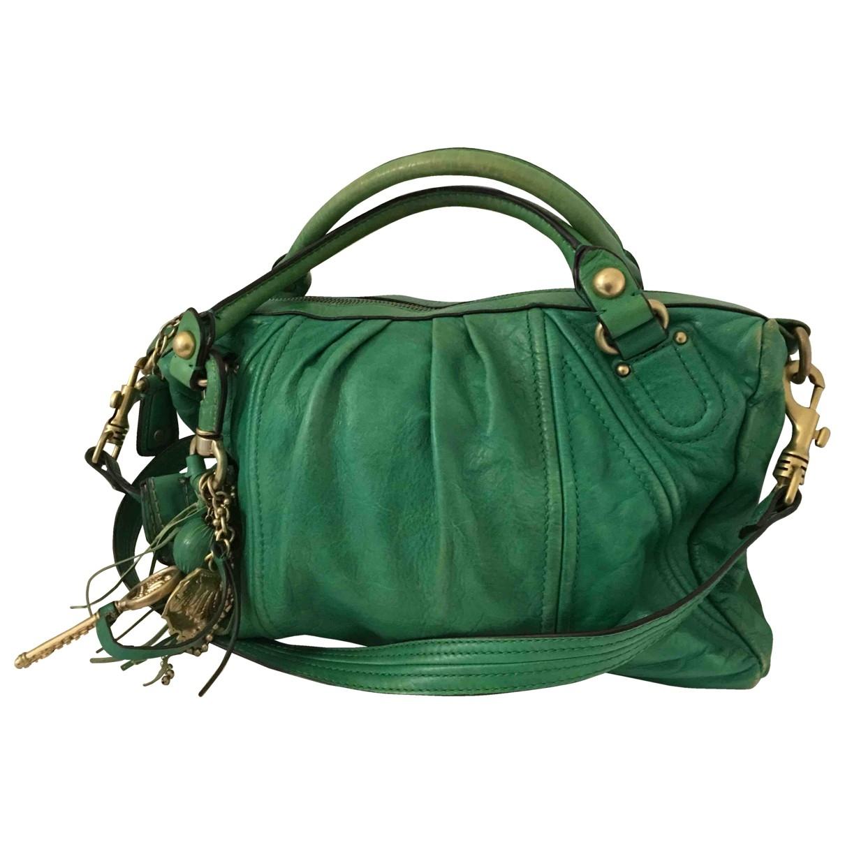Juicy Couture - Sac a main   pour femme en cuir - vert