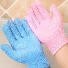 1 Stueck Zufaellige Farbe Peeling Handschuh