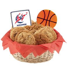 NBA Washington Wizards Cookie Basket