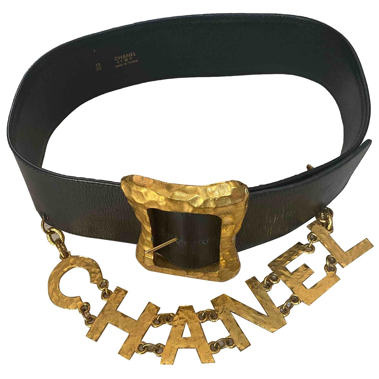 Cinturon de Cuero Chanel