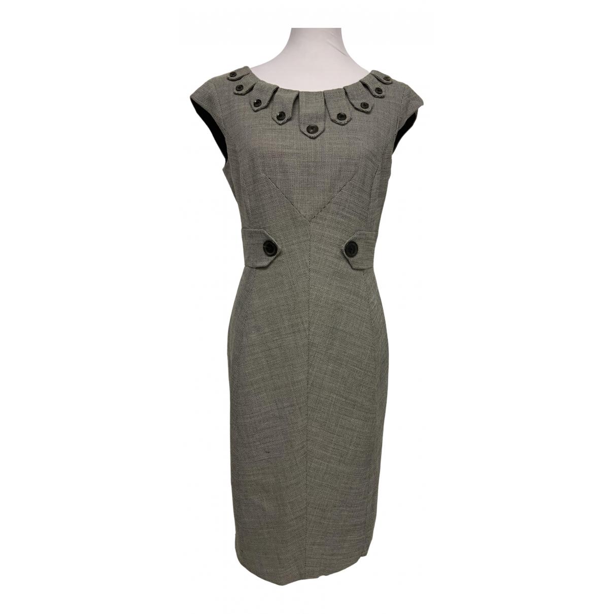 Karen Millen \N Kleid in  Schwarz Wolle