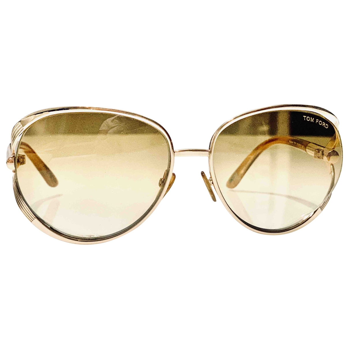 Tom Ford \N Sonnenbrillen in  Gold Metall