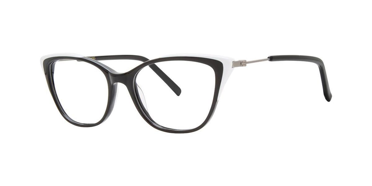 Vera Wang V567 Piano Mens Glasses Black Size 50 - Free Lenses - HSA/FSA Insurance - Blue Light Block Available