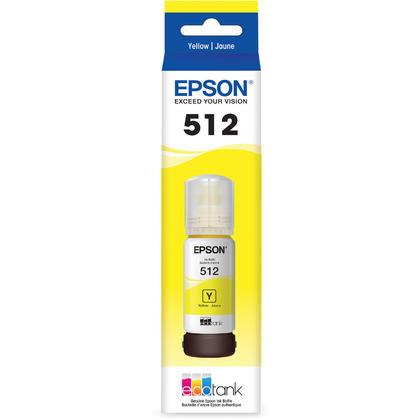 Epson EcoTank T512 T512420-S Original Yellow Ink Bottle