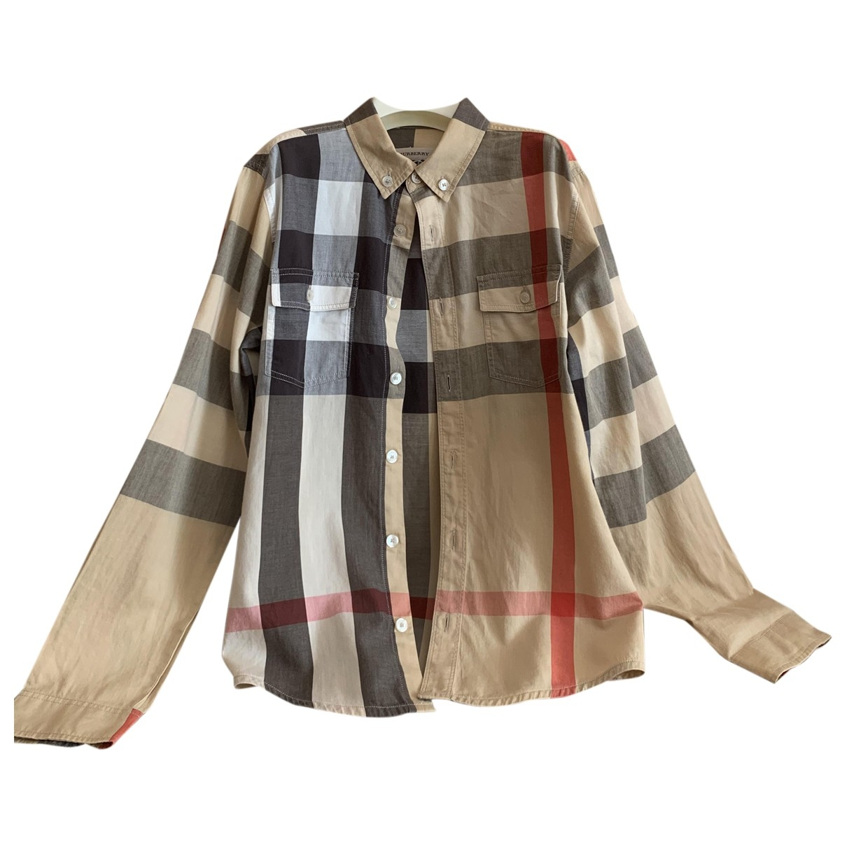 Burberry \N Beige Cotton  top for Kids 8 years - up to 128cm FR