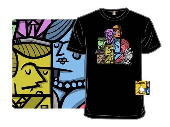 Retro Cluedo T Shirt
